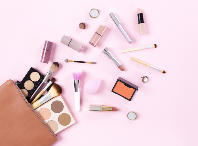 Zinc oxide is a common ingredient found in makeup and other personal care products.