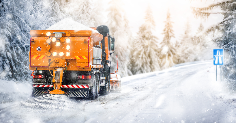 The lower freezing point of brine (salt mixed with water), make sodium chloride ideal to deice roads.